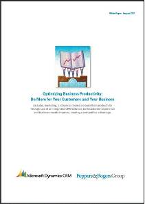 Optimizing Business Productivity: Do More for Your Customers and Your Business