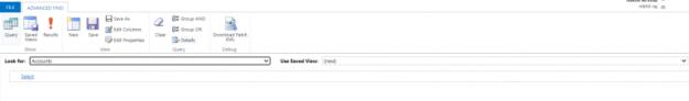 Advanced Find in Microsoft Dynamics 365 - AhaApps