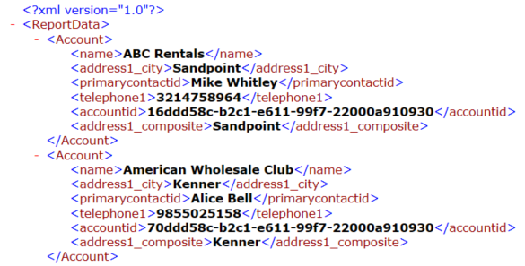 11 2 Word Document Templates that use FetchXML for Complex Data Retrieval