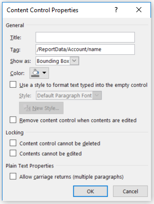 12 2 Word Document Templates that use FetchXML for Complex Data Retrieval