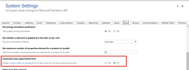 Customizing the Opportunity Close dialog/form - Microsoft Dynamics CRM