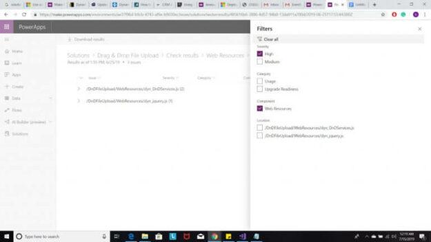 Microsoft Solution Checker - AhaApps