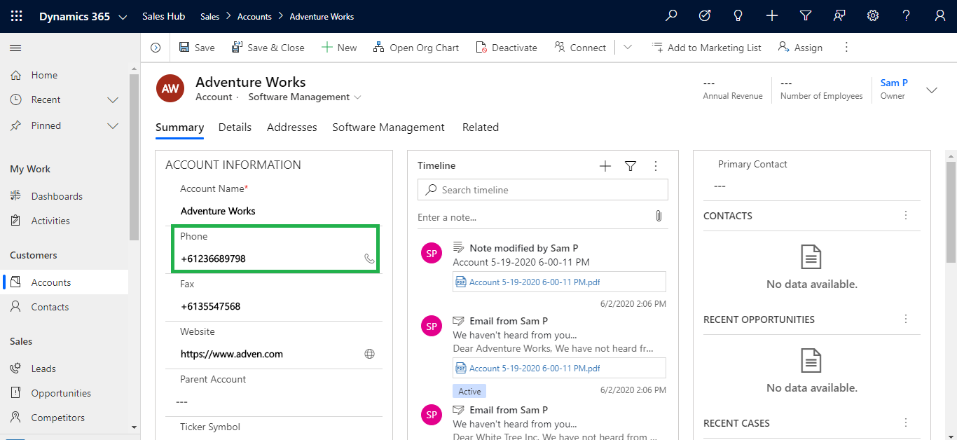 2 Click to Undo changes in Dynamics 365 CRM – Restore changes done last in past and multiple records too 1 Click to Undo changes in Dynamics 365 CRM – Restore changes done last, in past and multiple records too!