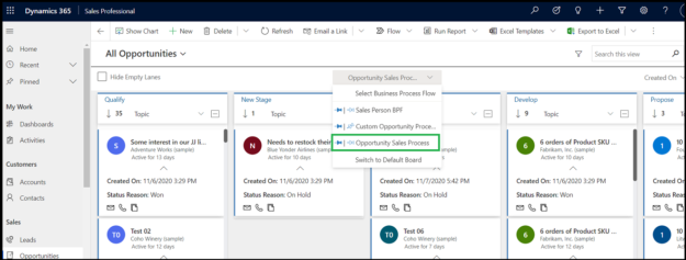 Switch from old Record View to Kanban Board View