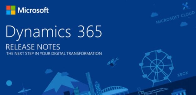 Dynamics 365 Release Notes 2018