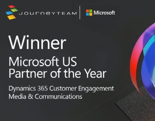 Microsoft Partner of the Year Media and Communications | JourneyTEAM