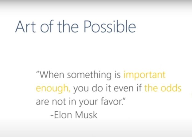 Art of the Possible Musk