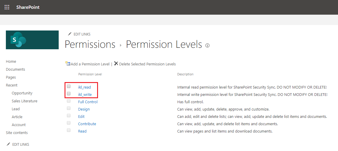 SharePoint Security Sync – A must have app to sync Dynamics 365 CRM & SharePoint Security Permissions