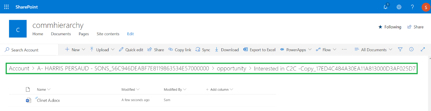 Store and Manage Dynamics 365 CRM documents
