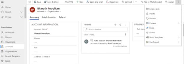 4 10 625x219 Missing Form Editor through command bar in Microsoft Dynamics 365