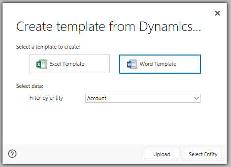 4 2 Word Document Templates that use FetchXML for Complex Data Retrieval