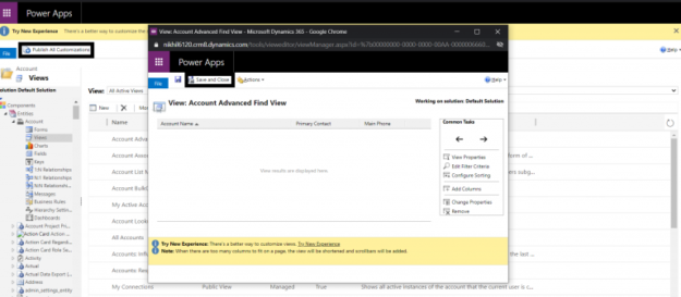 4 6 625x273 Tips on using Advanced Find in Microsoft Dynamics 365