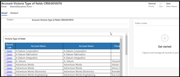 export data from Dynamics 365 CRM
