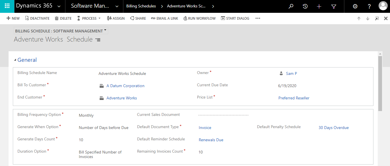 Manage Subscriptions and Licenses