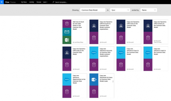 Microsoft Common Data Model and Flow and PowerApps   Oh My! - CRM