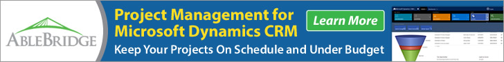 Project Mgmt for Dynamics CRM