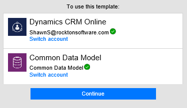 CRM and CDM Connections