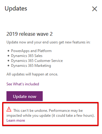 Apply October 2019 updates Dynamics 365 October 2019 Updates Headers and Density