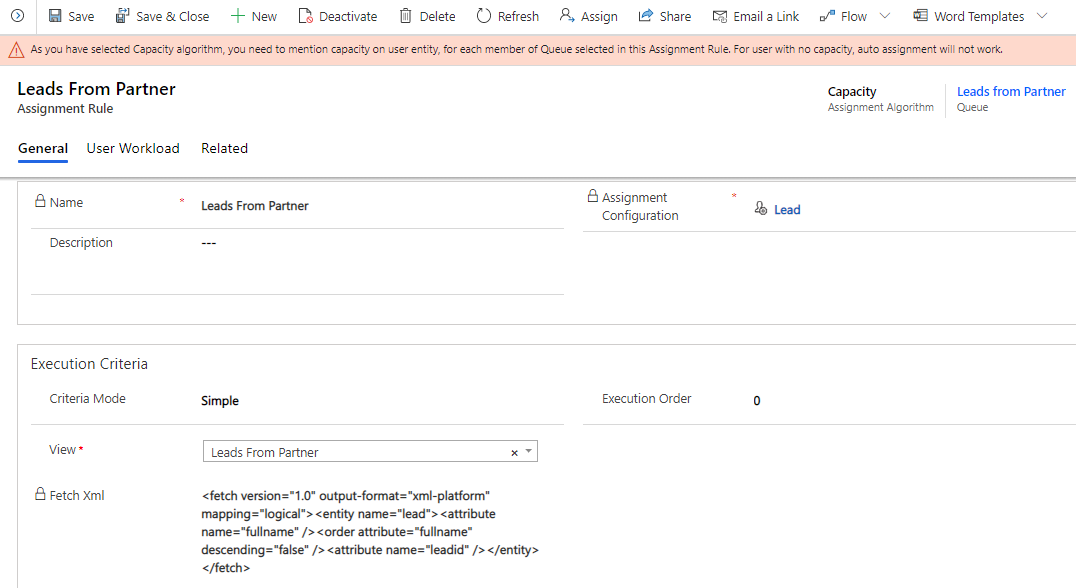 Automate Assignment of Leads or Cases within Dynamics 365 CRM or Power Apps to specific users