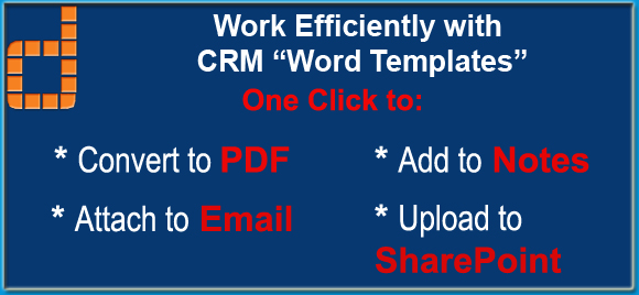 "How to overcome CRM ""Word Templates"" missing features  - CRM"