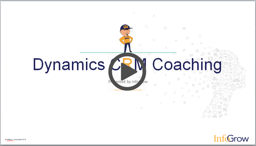 Dynamics CRM Coaching Security Roles Screen