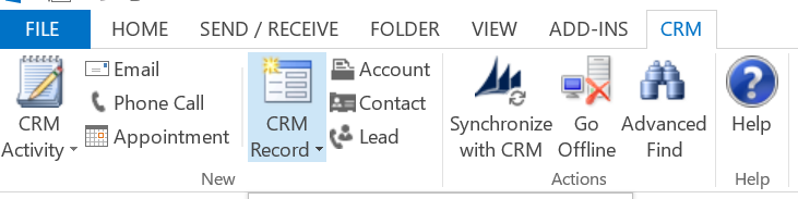 CRM for Outlook 1