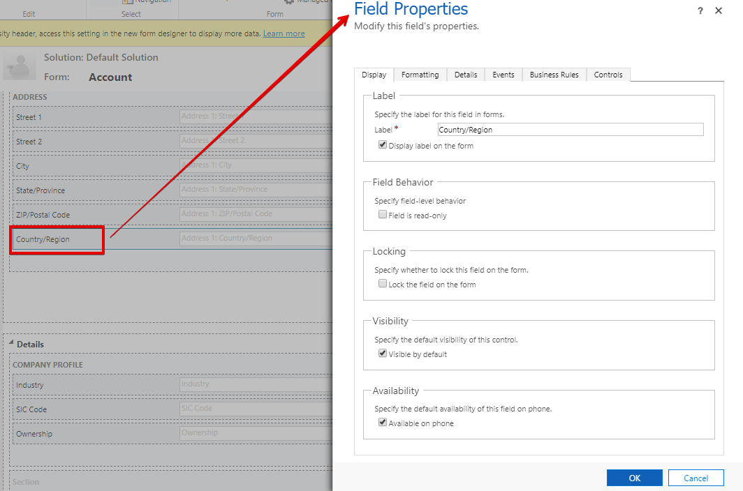 Set Up Auto-Complete Control in Dynamics 365 - Business
