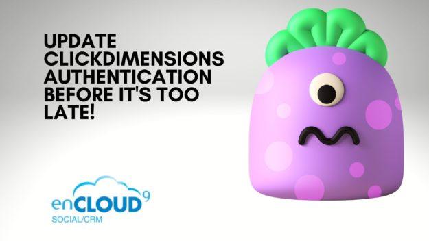 ClickDimensions Authentication | enCloud9