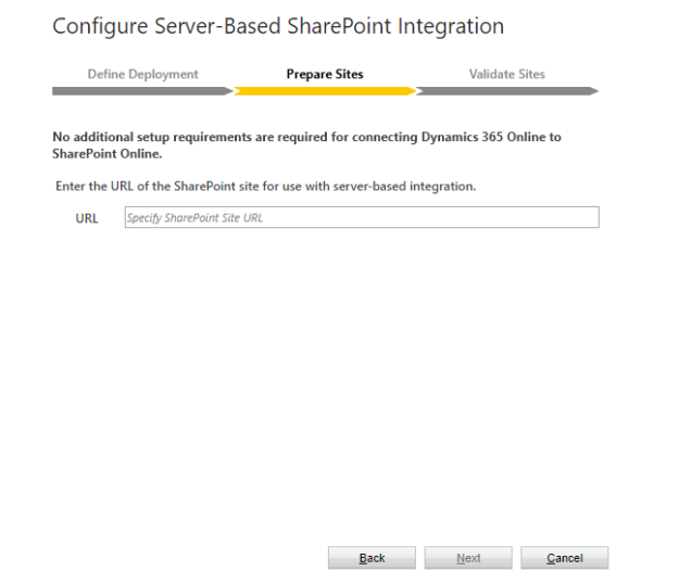 Configure SharePoint Integration - Prepare Sites