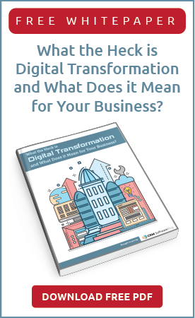 Digital Transformation Whitepaper Web Banner-CRM Software Blog