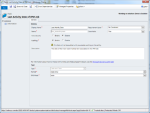 Display CRM records