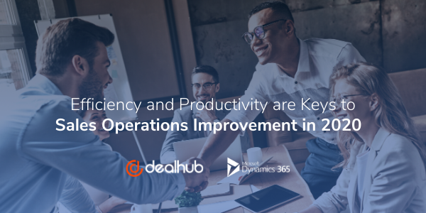 Efficiency and Productivity Key to Sales Operations Improvement