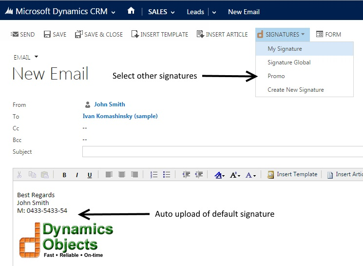 how to put signature in outlook 365
