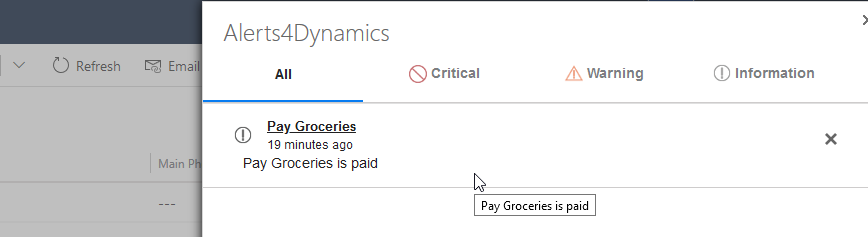 Event-Based Alerts feature within your Dynamics 365 CRM 1