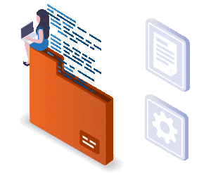 Dynamics document management with neat folder structure