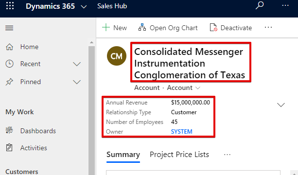 Header layout in narrow window Dynamics 365 October 2019 Updates Headers and Density