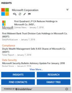 Free Training – Microsoft Insights for Dynamics 365