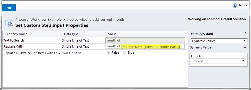Invoice Modify4
