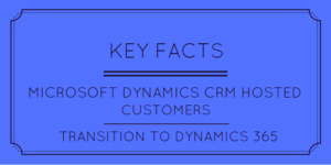 Key Facts CRM Hosted Customers