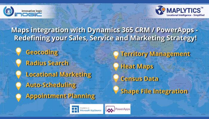 Map Dynamics CRM