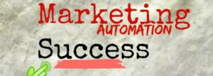 Marketing Automation Success Typeface Image