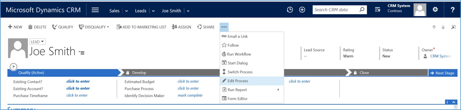 Microsoft Dynamics CRM 2015 - Sales Leads vs Opportunities 5