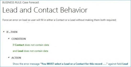Microsoft Dynamics CRM Business Rules 1