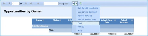 Microsoft Dynamics CRM Quick Fix for #VALUE! Errors in Exports to Excel 2