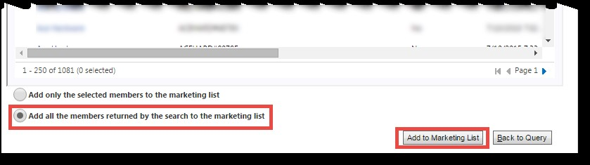 Microsoft Dynamics CRM - Using Marketing Lists to Enhance Advanced Find 7