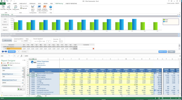 Microsoft Dynamics Power BI Solver Screenshot