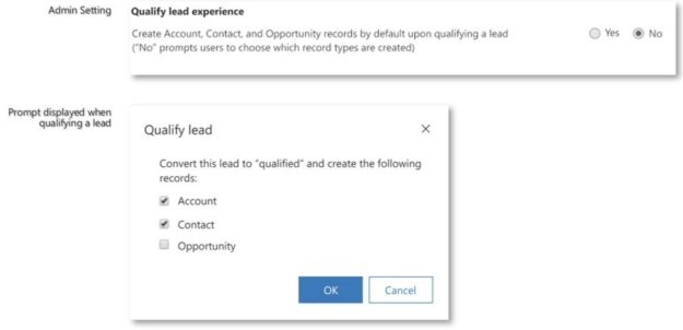 New Qualify Lead experience 625x302 Highlights of Upcoming Dynamics 365 October 2019 Updates