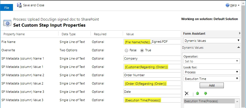 pdf word template to docusign upload to sharepoint with workflow