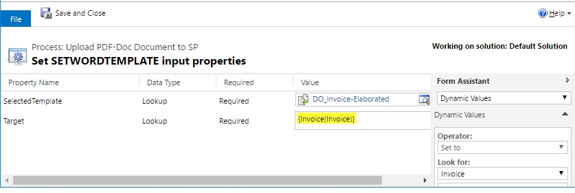 PDF Docs SP workflow2 Upload CRM Word Templates to SharePoint or attach to Email