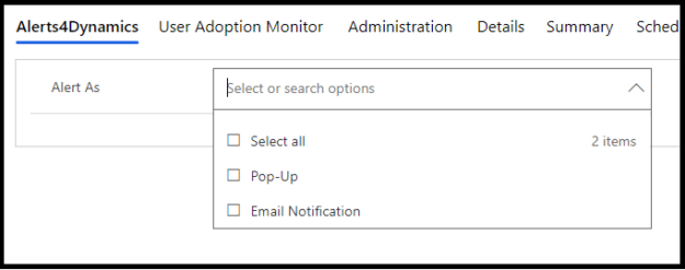 Pop-up or Email, Auto-Dismiss or Non-Dismissible - Control the way Alerts are set in Dynamics 365 CRM